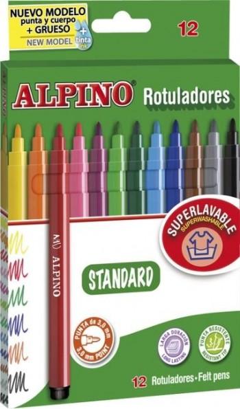 ROTULADORES DE COLORES ALPINO