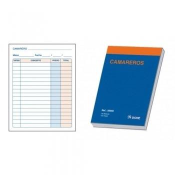 TALONARIO CAMARERO 1/8 100 HOJAS