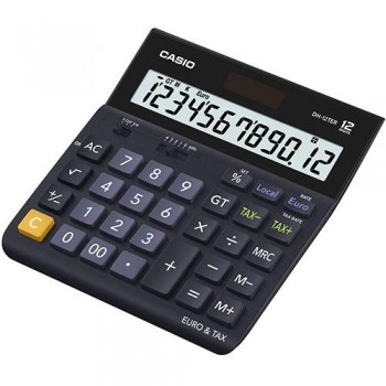 CALCULADORA SOBREMESA CASIO 12 DIGITOS DH-12TER