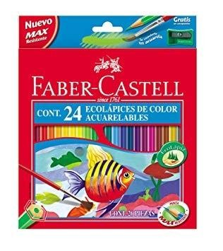 LAPICES FABER-CASTELL ACUARELABLES ECOLAPICES.