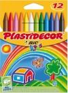 CERAS PLASTIF. PLASTIDECOR 12 UDS,.