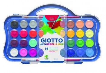 ACUARELA GIOTTO 36 COLORES + PINCEL