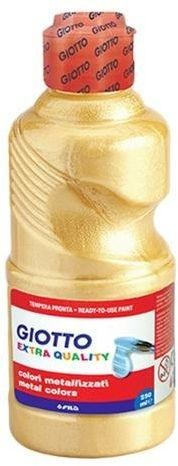 TEMPERA 250 ml. GIOTTO ORO METALIZ.