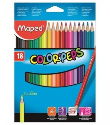 LAPICES COLOR MAPED 18 UDS.