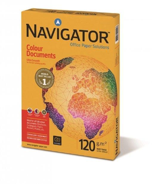 PAPEL NAVIGATOR A4 120gr COLOUR DOCUMENTS