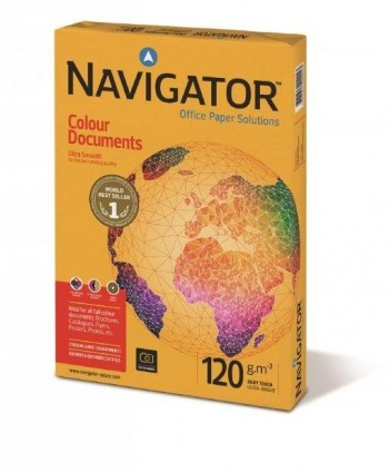 PAPEL NAVIGATOR A4 120gr COLOUR DOCUMENTS
