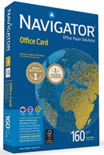 PAPEL NAVIGATOR 160g A4 OFFICE CARD