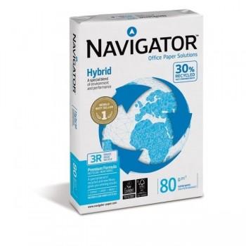 PAPEL A4 NAVIGATOR HYBRID 80 GRS. MULTIFUNCION 500 HOJAS