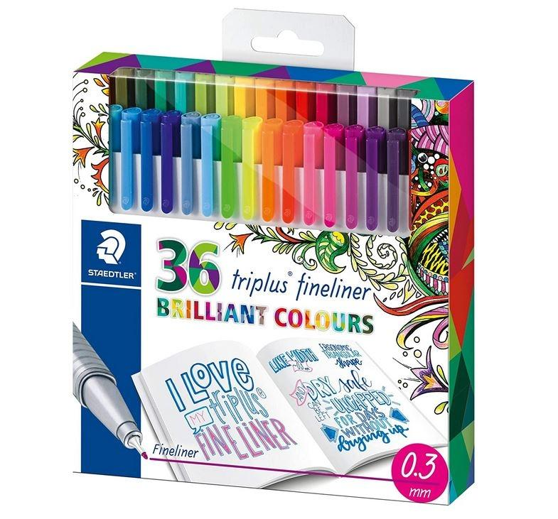 ROTULADORES STAEDLER 36 COLORES FINELINER