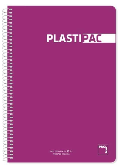 BLOCK PACSA FOLIO 2 RAYAS 2.5 PLASTIPAC