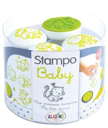 TAMPOMINOS BABY ANIMALES DOMESTICOS 4 SELLOS