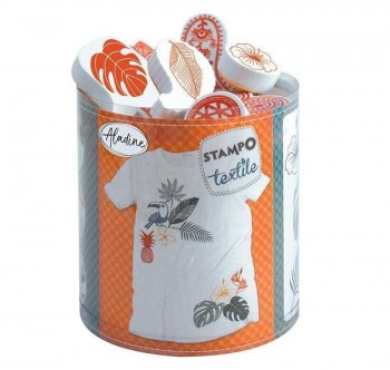 STAMPO TEXTILE TROPICAL