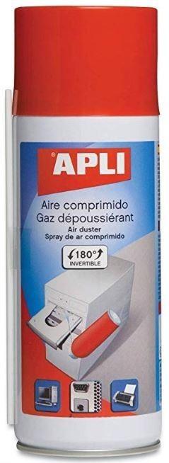 SPRAY AIRE COMPRIMIDO FUERTE 500ML APLI
