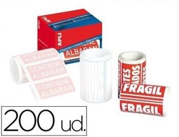 ETIQUETA FRAGIL 200 UDS.