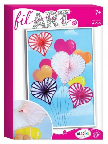 KITS FIL ART GLOBOS DE CORAZON