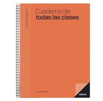 CUADERNO ADDITIO DE TODAS LAS CLASES SEMANA VISTA