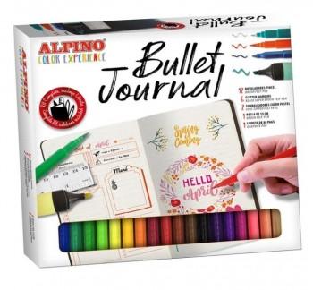 SET ALPINO COLOR BULLET JOURNAL KIT