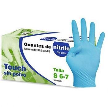 GUANTES DE NITRILO PAQUETE DE 100 UDS