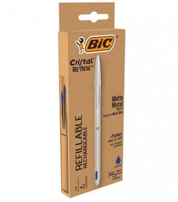 BOLIGRAFO BIC METAL RENEW + 2 CARGAS