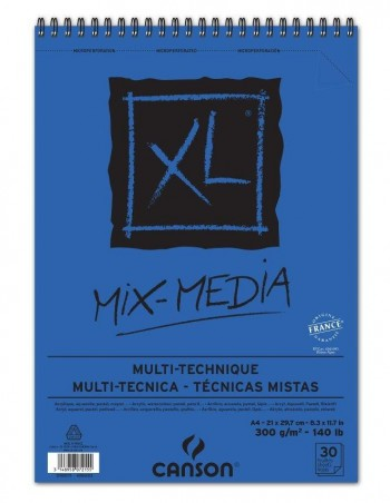 BLOCK MIX-MEDIA XL CANSON 300GR
