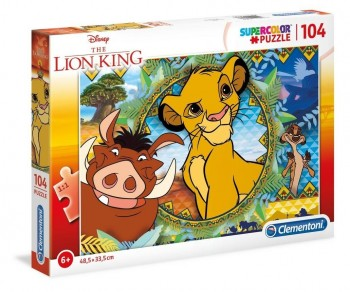 PUZZLE CLEMENTONI THE LION KING 104 PZ