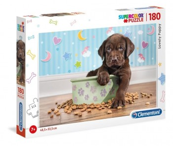 PUZZLE CLEMENTONI LOVELY PUPPY 180 PZ