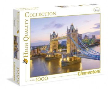 PUZZLE CLEMENTONI TOWER BRIDGE 69X50CM 1000PZ