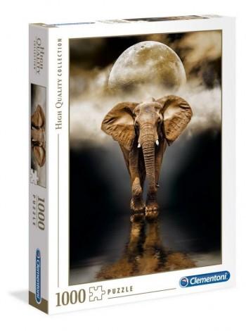 PUZZLE CLEMENTONI ELEPHANT 50X69CM 1000PZ