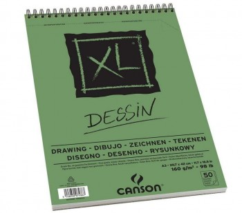 BLOCK CANSON DRAW DESSIN 50H 160gr