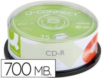 CD-R 700 MB 80 MIN. TARR. 25U Q-CON
