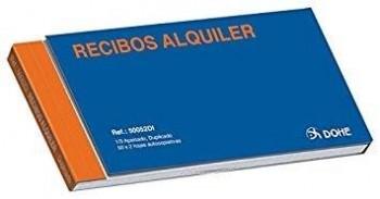 TALONARIO RECIBO ALQUILER 1/3 DUPLICADO