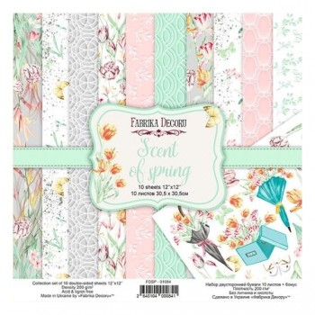 SET FABRIKA DEGORU 30X30 SCENT OF SPRING