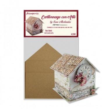 SET CARTONAJE BOX HOUSE BY SARA ALCOBENDAS