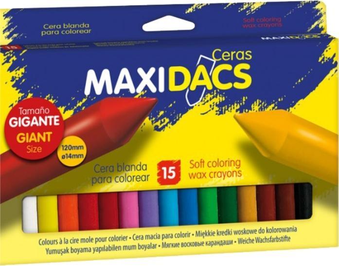 CERAS DACS MAXI 15 COLORES