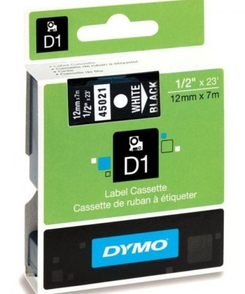 CINTA DYMO D1 12 MM x 7 MTS