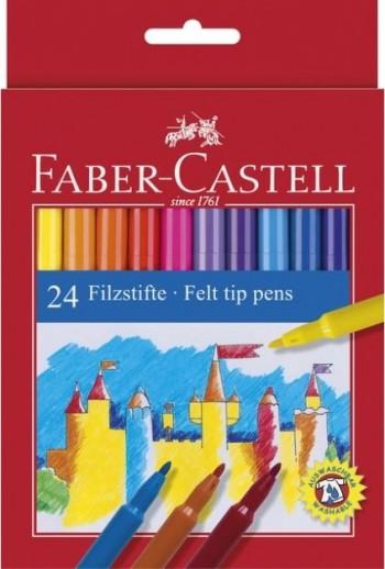 ROTULADORES DE COLORES FABER-CASTELL CAJA CARTON