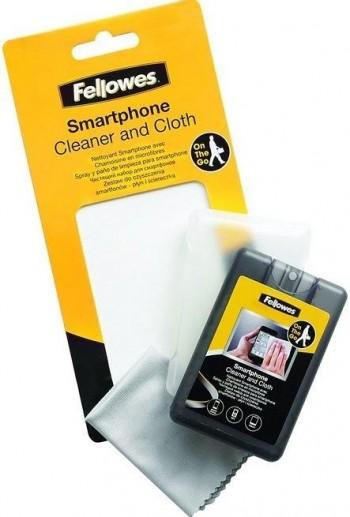 SPRAY Y PAÑO LIMPIEZA SMARTPHONE Y TABLET FELLOWES