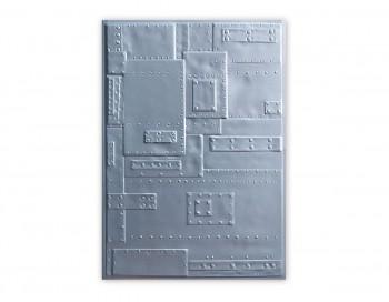PLACA DE TEXTURA 3D TEXTURED IMPRESSIONS RIVETS BY TIM HOLTZ