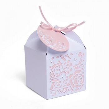 SET 5 TROQUELES THINLITS DECORATIVE FAVOUR BOX OLIVIA ROSE