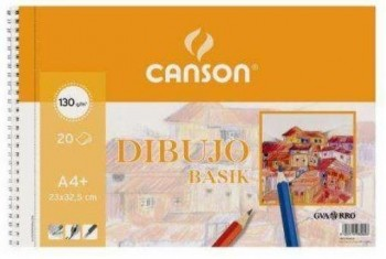 BLOCK DIBUJO CANSON BASIK A3 SIN MARGEN