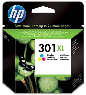 CARTUCHO HP 301XL COLOR
