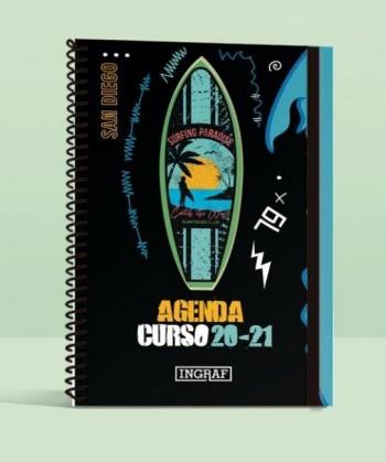 AGENDA  ESCOLAR 8º DP SURF / SKATE