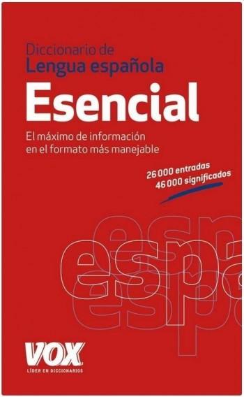 DICCIONARIO ESENCIAL LENGUA  ESPAÑOLA VOX12