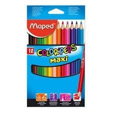 LAPICES COLOR MAPED 12U.JUMBO TRIANGULARES