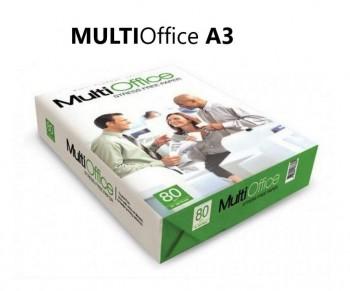 PAPEL A3 MULTIFUNCION 80 gr. MULTIOFFICE