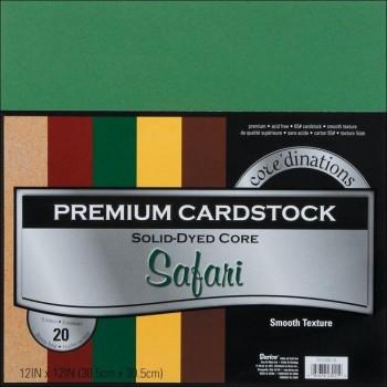 BLOCK CARTULINA CORE 30X30 SAFARI