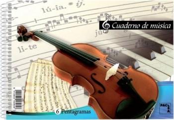 BLOCK MUSICA PACSA 8 PENTAGRAMAS.20H