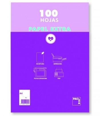 PAPEL PACSA A4 90 GRS. PAQUETE 100 H