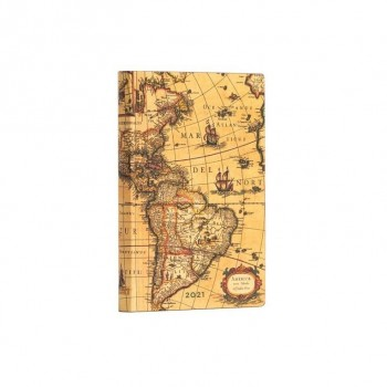 AGENDA PAPER BLANKS WESTERN HEMISPHERE MINI (9,5 X 14 CMS) SV