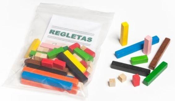JUEGO REGLETAS BOLSA  FAIBO  63 PIEZAS